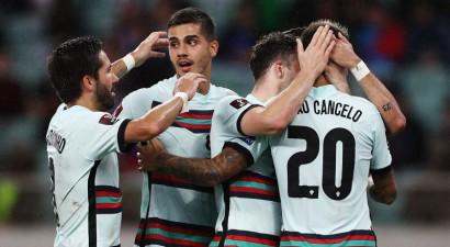 Portugāle bez Ronaldu viegli tiek galā ar Azerbaidžānu