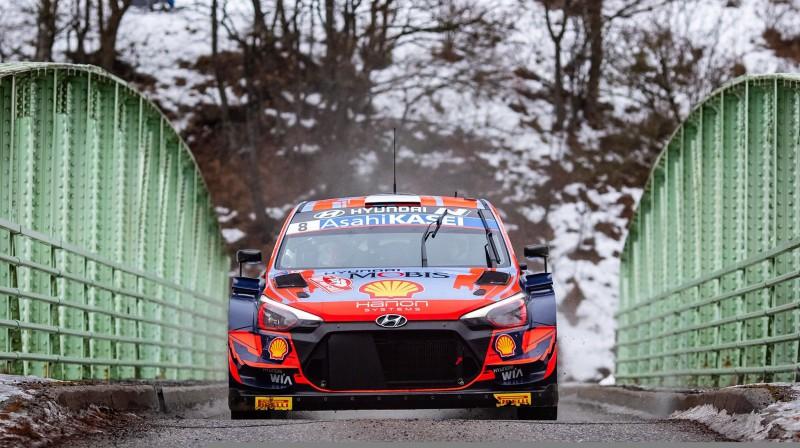Ots Tanaks. Foto: Hyundai Motorsport