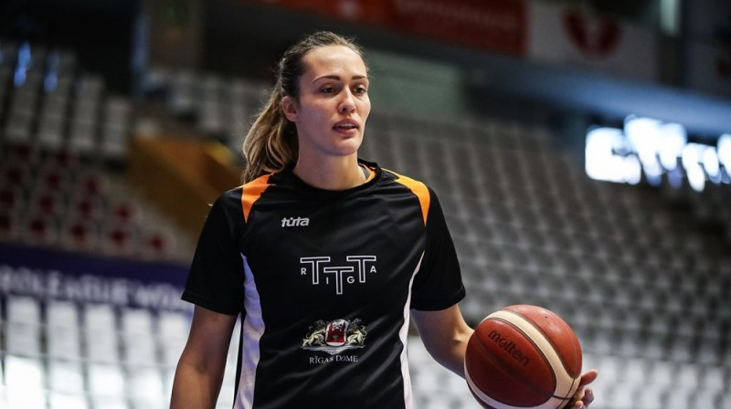 Karlīne Pilābere. Foto: FIBA
