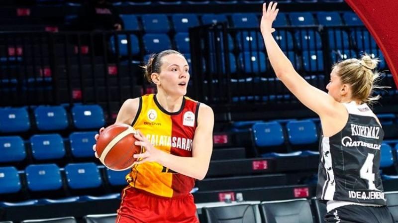 Anete Šteinberga. Foto: Galatasaray
