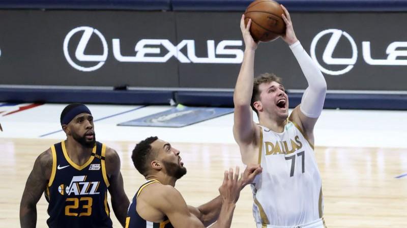Luka Dončičs. Foto: USA Sports Today/Scanpix