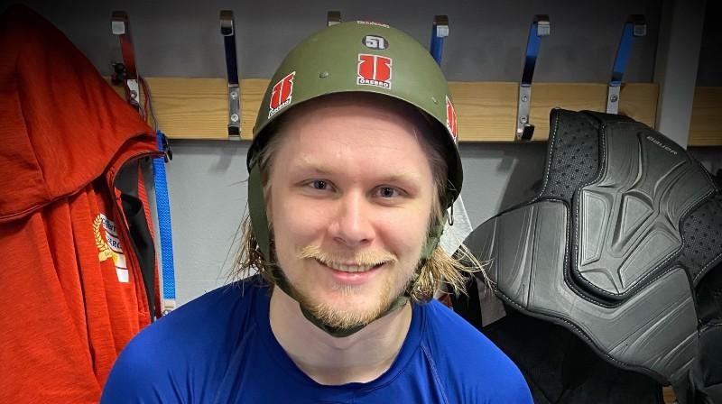 Rodrigo Ābols. Foto: Örebro Hockey