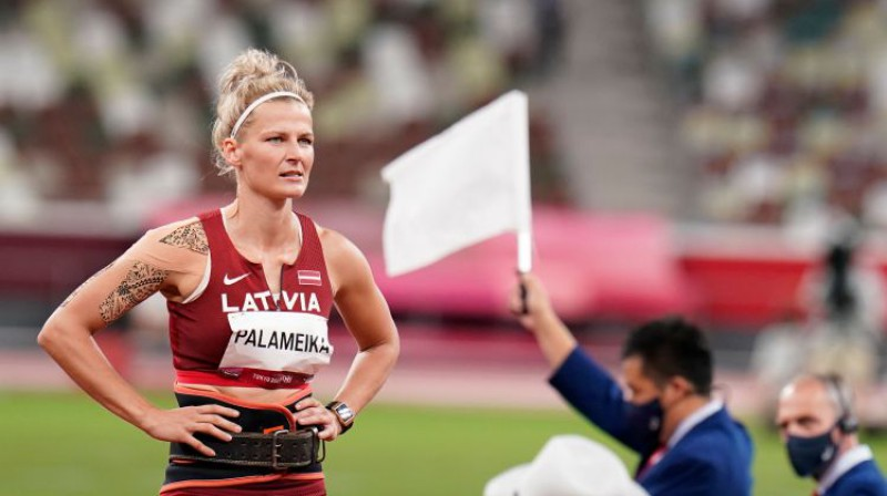 Madara Palameika. Foto: olimpiadef64.lv