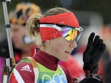 Šovakar biatlona stafete sievietēm