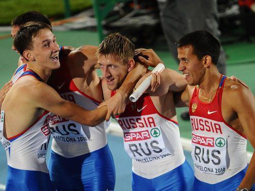 Krievijai dubultpanākums 4x400 metru stafetē