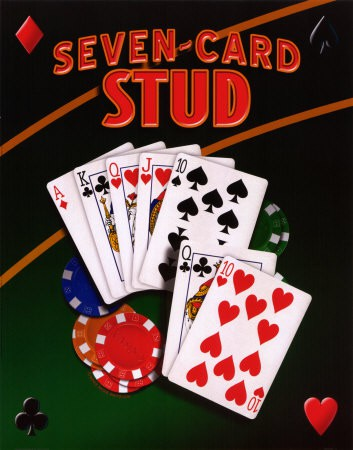 Seven-Card Stud pokera noteikumi