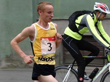 Žolnerovičs labo Latvijas rekordu pusmaratonā