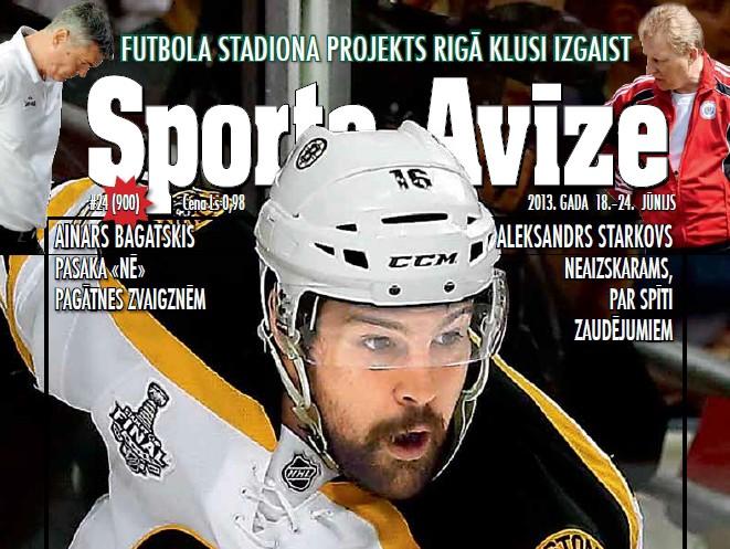 Sporta Avīze. 2013. gada 24.numurs (18.jūnijs - 24.jūnijs)