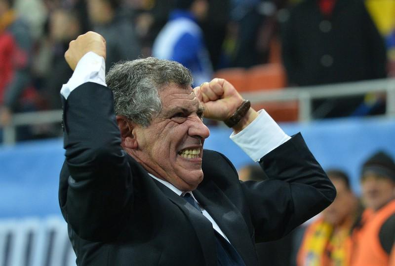 Portugāles izlasi vadīs bijušais Grieķijas treneris Santušs