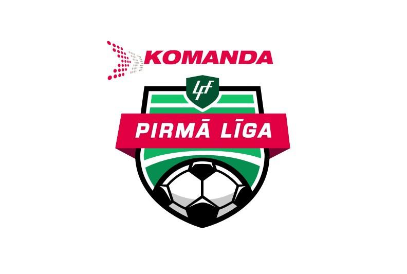 """""""komanda.lv"""" kļūst par 1. līgas futbola čempionāta titulsponsoru"""