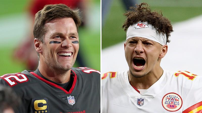 """""""Super Bowl"""" ar dueli starp veterānu Breidiju un jauno superzvaigzni Mahoumsu"""