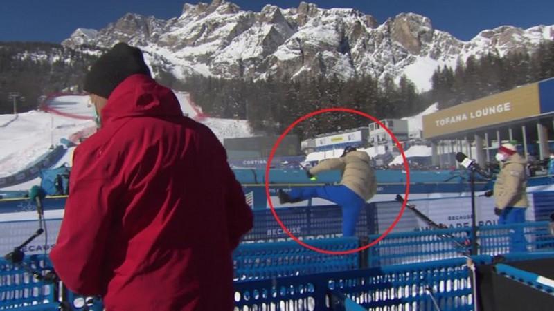 Super-G vicečempionam Baumanam smadzeņu satricinājums, Alpu kombinācijā nestartēs (video)
