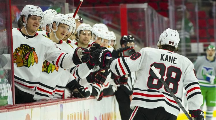 Par NHL februāra labākajiem atzīti Keins, Pastrņāks, Metjūzs un Kutūrs