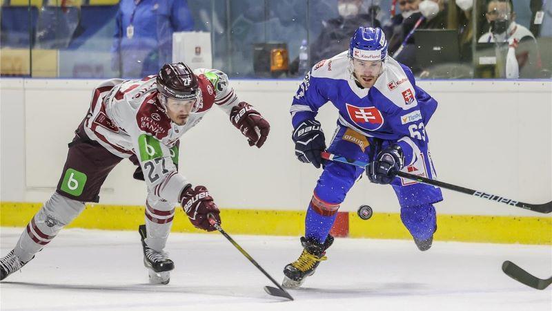 Latvijas izlasei otrais duelis ar vakar apspēlētajiem slovākiem