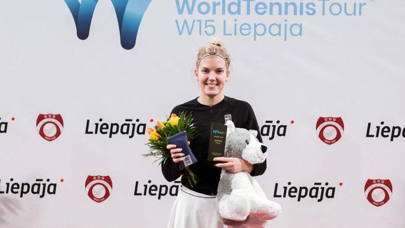 Liepājā notiks ITF turnīrs sievietēm ar 25 tūkstošu dolāru balvu fondu