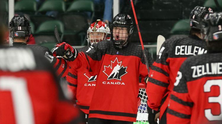 Kanāda pret Krieviju – cīņa par pasaules U18 čempiones titulu hokejā