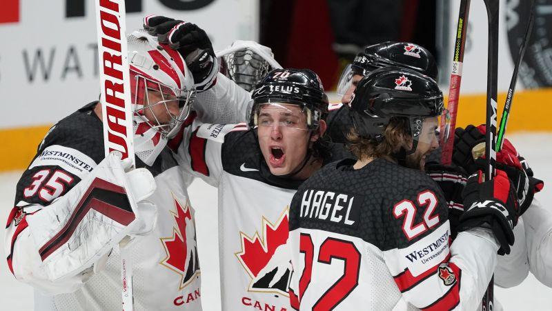 Rīgā noskaidros pasaules čempionus hokejā - finālā spēkosies Somija un Kanāda