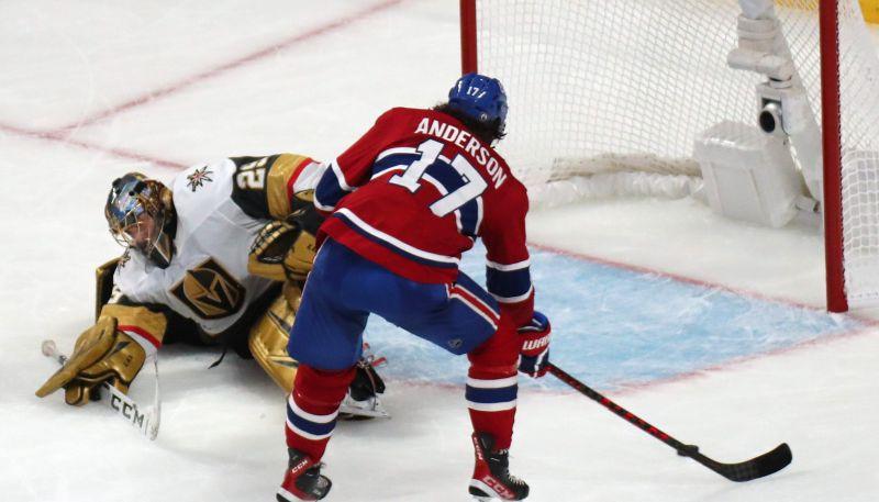 """Flerī nepiedodama kļūda, """"Canadiens"""" pagarinājumā uzvar """"Golden Knights"""""""