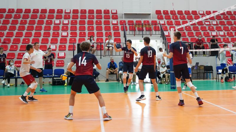 Latvijas U17 volejbolisti vēlreiz zaudē Beļģijai, EČ pabeidzot astotajā vietā