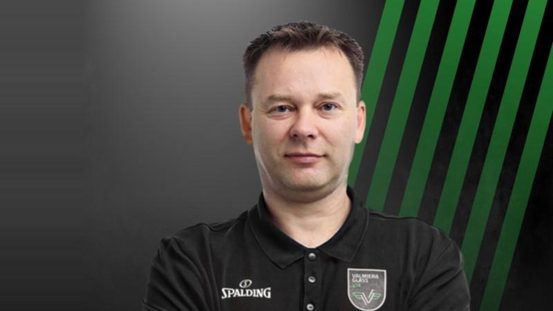 """Valeiko kļūst par """"Valmiera Glass/Vidzemes Augstskola"""" galveno treneri"""