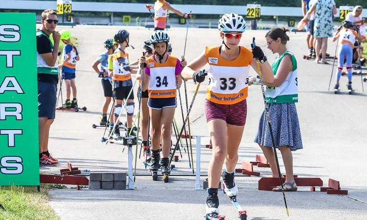 Sadalīti šī gada pirmie LČ medaļu komplekti rollerslēpošanā jauniešiem un veterāniem