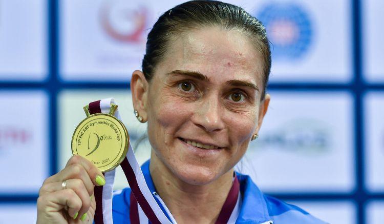 Septiņas spēles aizvadījušajai vingrotājai Čusovitinai Tokijā būs karjeras pēdējās OS