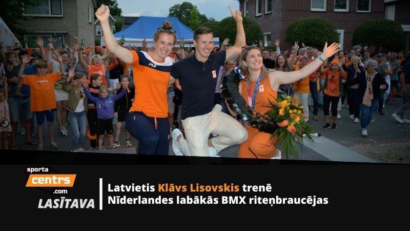 Mūsējais konkurentu nometnē: BMX treneris ved Nīderlandi pretī tituliem