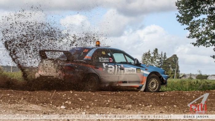 """Minirallijā """"Karosta"""" uzvar Ločmeļa/Lipstoka ekipāža ar """"Subaru Impreza"""""""